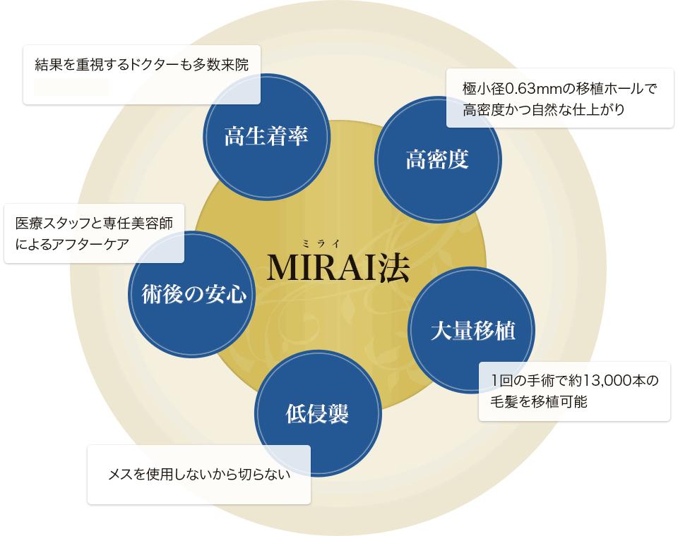 MIRAI法