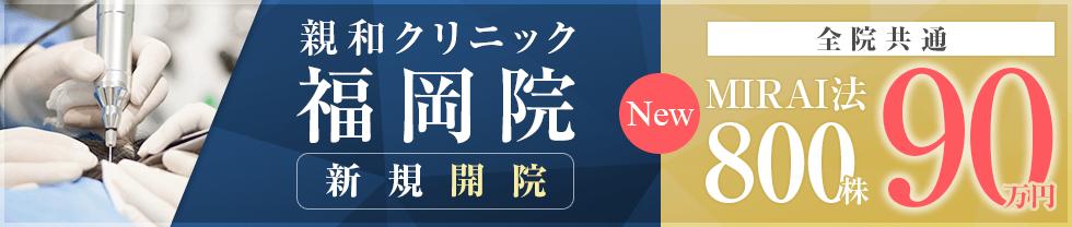 MIRAI法800株90万円